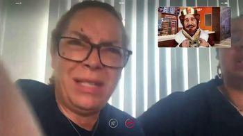 Burger King 3 for $3 TV Spot, 'Facetime King: BLT Chicken Jr.' - Thumbnail 5