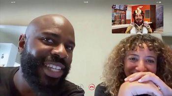 Burger King 3 for $3 TV Spot, 'Facetime King: BLT Chicken Jr.' - Thumbnail 6