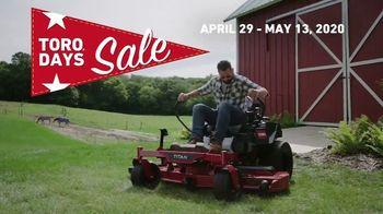 Toro Days Sale TV Spot, 'Yard of Your Dreams' - Thumbnail 10