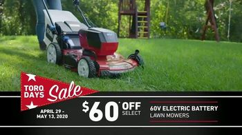 Toro Days Sale TV Spot, 'Yard of Your Dreams'