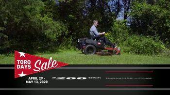 Toro Days Sale TV Spot, 'Yard of Your Dreams' - Thumbnail 5