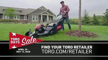 Toro Days Sale TV Spot, 'Yard of Your Dreams' - Thumbnail 7