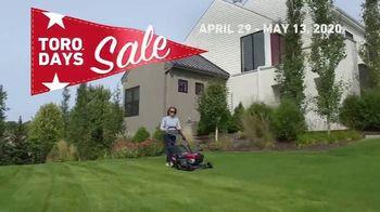 Toro Days Sale TV Spot, 'Yard of Your Dreams' - Thumbnail 9