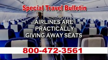 Low Cost Airlines TV Spot, 'Special Travel Bulletin'