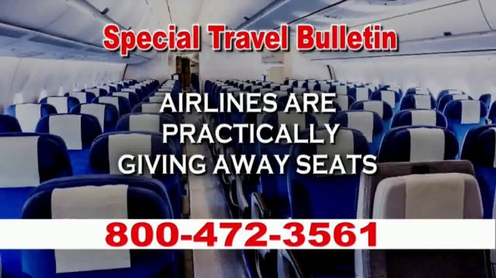 Low Cost Airlines TV Commercial, 'Special Travel Bulletin'