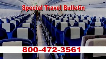 Low Cost Airlines TV Spot, 'Special Travel Bulletin' - Thumbnail 1