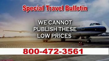 Low Cost Airlines TV Spot, 'Special Travel Bulletin' - Thumbnail 7