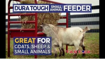 Tarter Farm & Ranch Equipment Dura Tough Small Animal Feeder TV Spot, 'Tough Feeder'