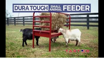 Tarter Farm & Ranch Equipment Dura Tough Small Animal Feeder TV Spot, 'Tough Feeder' - Thumbnail 1