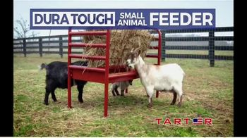 Tarter Farm & Ranch Equipment Dura Tough Small Animal Feeder TV Spot, 'Tough Feeder' - Thumbnail 2
