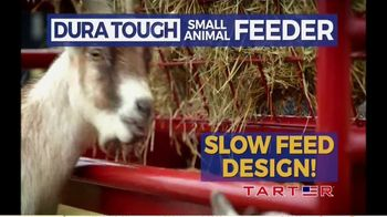 Tarter Farm & Ranch Equipment Dura Tough Small Animal Feeder TV Spot, 'Tough Feeder' - Thumbnail 7