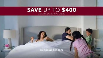 Sleep Number 360 Smart Bed TV Spot, \'Better Sleep: Up to $400 Off and No Interest\'