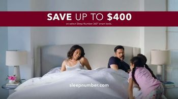 Sleep Number 360 Smart Bed TV Spot, 'Better Sleep: Up to $400 Off and No Interest' - Thumbnail 8