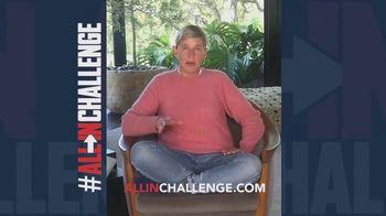 Fanatics.com TV Spot, 'All-In Challenge' Featuring Kevin Hart, Leonardo DiCaprio, Ellen DeGeneres - Thumbnail 8