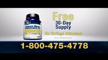 Super Beta Prostate Advanced TV Spot, 'Waking Up Over and Over: Free 30 Day Supply'
