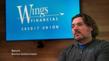 Wings Financial Credit Union TV Spot, 'Barry: Cooperative Spirit' - Thumbnail 3