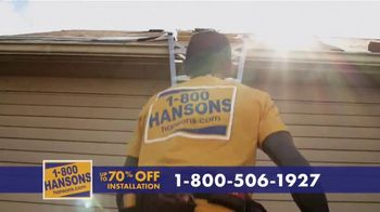 1-800-HANSONS TV Spot, 'Your Home: Up to 70 Percent' - Thumbnail 3