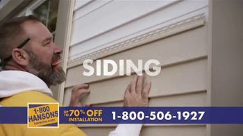 1-800-HANSONS TV Spot, 'Your Home: Up to 70 Percent' - Thumbnail 4