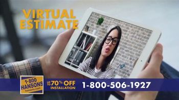 1-800-HANSONS TV Spot, 'Your Home: Up to 70 Percent'
