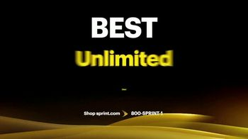 Sprint Best Unlimited Deal TV Spot, 'Saving Money: Four Lines and Four Galaxy Phones'