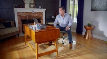 Vitrazza TV Spot, 'Glass Office Chair Mats: Save 10 Percent'
