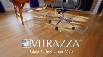 Vitrazza TV Spot, 'Glass Office Chair Mats: Save 10 Percent'