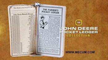 Mecum On Time Auctions TV Spot, 'John Deere Pocket Ledger Collection'