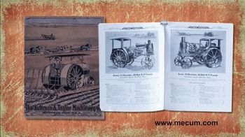 Mecum On Time Auctions TV Spot, 'Early Tractor & Farm Equipment Literature' - Thumbnail 2