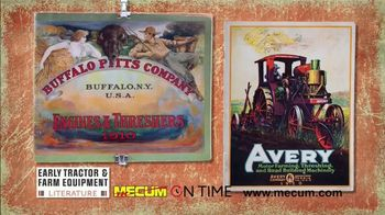 Mecum On Time Auctions TV Spot, 'Early Tractor & Farm Equipment Literature' - Thumbnail 3