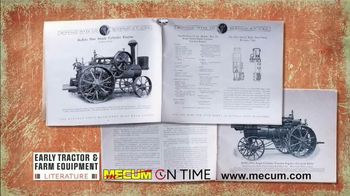 Mecum On Time Auctions TV Spot, 'Early Tractor & Farm Equipment Literature' - Thumbnail 5