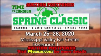 Mecum Auctions Spring Classic TV Spot, 'The Lehr Collection: Postponed' - Thumbnail 5