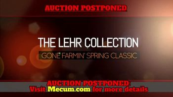 Mecum Auctions Spring Classic TV Spot, 'The Lehr Collection: Postponed' - Thumbnail 2