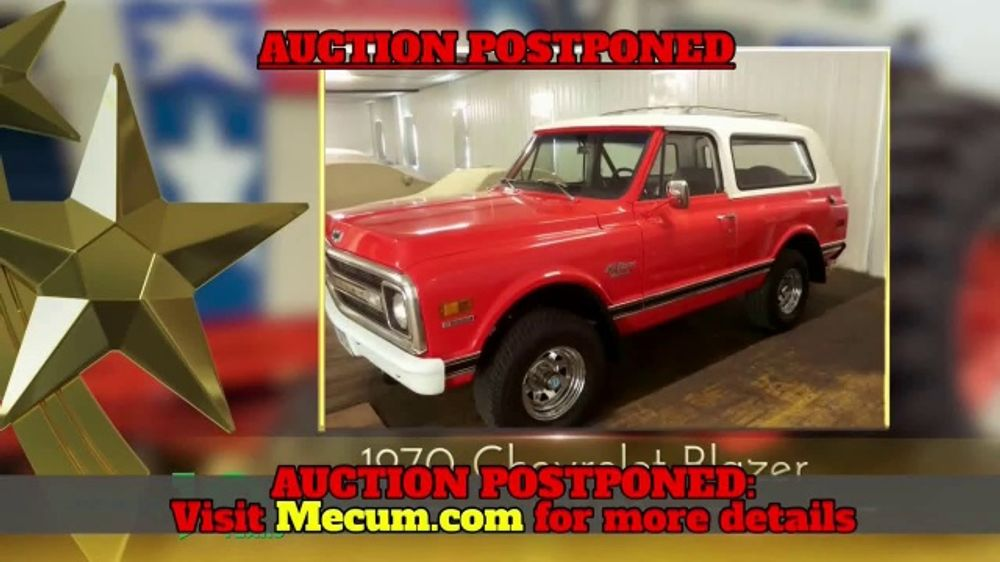 Mecum Gone Farmin' 2020 Spring Classic TV Commercial, 'Tractors & Trucks: Postponed'