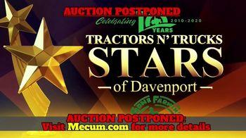 Mecum Gone Farmin' 2020 Spring Classic TV Spot, 'Tractors & Trucks: Postponed' - Thumbnail 1