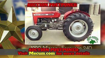 Mecum Gone Farmin' 2020 Spring Classic TV Spot, 'Tractors & Trucks: Postponed' - Thumbnail 3