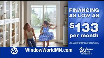 Window World TV Spot, \'White Patio Door and Windows: $133 Per Month\'