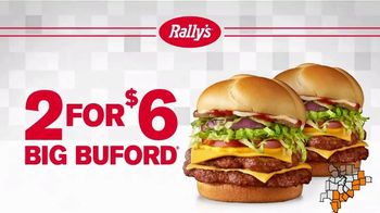 Rally's 2 for $6 Big Bufords TV Spot, 'This is Real: Free Delivery'
