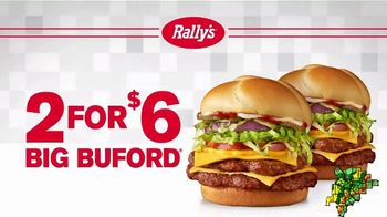 Rally's 2 for $6 Big Bufords TV Spot, 'This is Real: Free Delivery' - Thumbnail 8