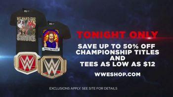 WWE Shop TV Spot, 'Únase al universo: 50 por ciento de descuento' canción de Krissie Karlsson [Spanish] - Thumbnail 9