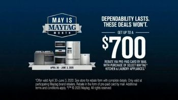 Maytag Month TV Spot, 'Trade Your Scrubber: $700 Rebate' Featuring Colin Ferguson - Thumbnail 5