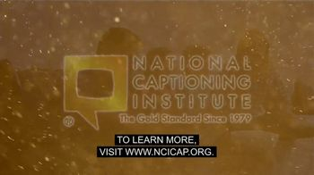 National Captioning Institute TV Spot, 'Captions Unite Us' - Thumbnail 9