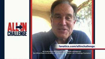 Fanatics.com TV Spot, 'All-In Challenge: CBS' Featuring Jim Nantz, Tony Romo, Tracy Wolfson - Thumbnail 2