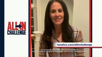 Fanatics.com TV Spot, 'All-In Challenge: CBS' Featuring Jim Nantz, Tony Romo, Tracy Wolfson - Thumbnail 5