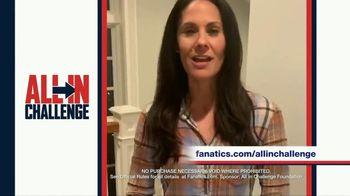 Fanatics.com TV Spot, 'All-In Challenge: CBS' Featuring Jim Nantz, Tony Romo, Tracy Wolfson - Thumbnail 6