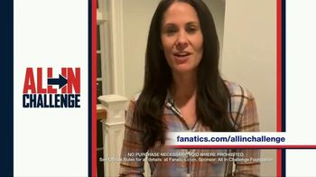 Fanatics.com TV Spot, 'All-In Challenge: CBS' Featuring Jim Nantz, Tony Romo, Tracy Wolfson - Thumbnail 7