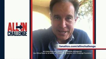 Fanatics.com TV Spot, 'All-In Challenge: CBS' Featuring Jim Nantz, Tony Romo, Tracy Wolfson - Thumbnail 9