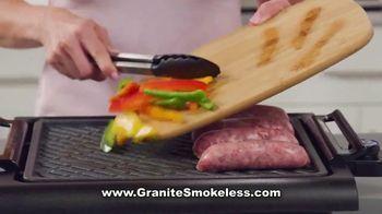 Granite Stone Smokeless Grill TV Spot, 'Doesn't Stick' - Thumbnail 6