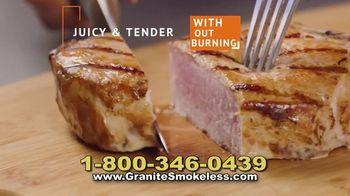 Granite Stone Smokeless Grill TV Spot, 'Doesn't Stick' - Thumbnail 7