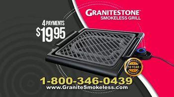 Granite Stone Smokeless Grill TV Spot, 'Doesn't Stick' - Thumbnail 9