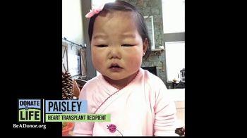Donate Life America TV Spot, 'Paisley' - Thumbnail 2